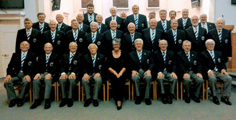 Skelmanthorpe Male Voice Choir group photo
